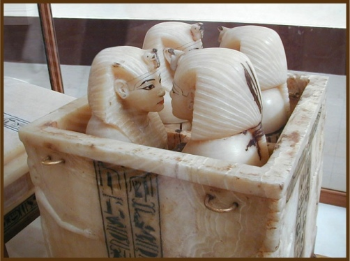 Tutankhamun Canopic Jars